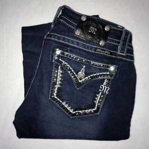 Miss Me Embellished Signature Bootcut Jeans 29 33